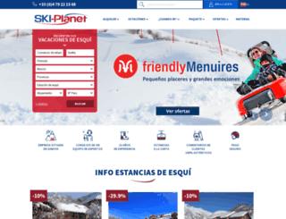 ski-planet.es screenshot