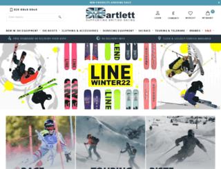 skibartlett.com screenshot