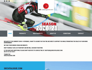 skicatalogue.com screenshot
