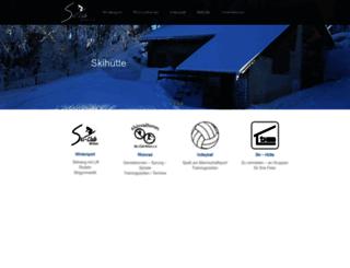skiclub-brilon.de screenshot