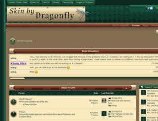 skinbydragonfly.com screenshot
