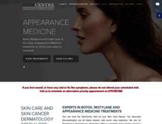 skincentre.com screenshot