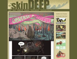 skindeepcomic.com screenshot