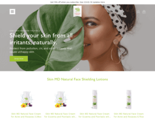 skinmdnatural.com screenshot