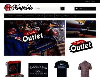 skinpride.com screenshot