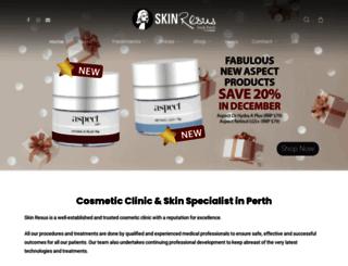skinresus.com.au screenshot