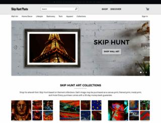 skip-hunt.artistwebsites.com screenshot