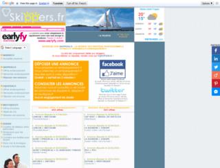 skippers.fr screenshot