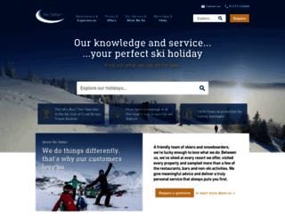 skisafari.com screenshot