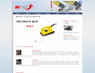 skitrace.com screenshot
