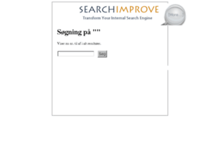 skive.searchimprove.com screenshot