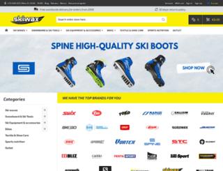 skiwax.eu screenshot