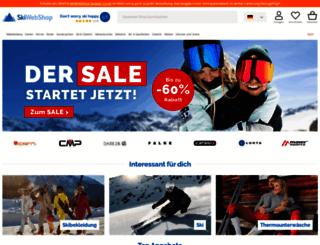 skiwebshop.de screenshot