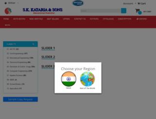 skkatariaandsons.com screenshot
