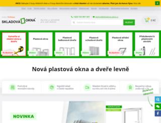 skladova-okna.cz screenshot