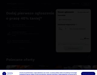 sklep.pracuj.pl screenshot