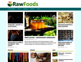 sklep.rawfoods.pl screenshot
