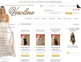 sklep.veroline.pl screenshot