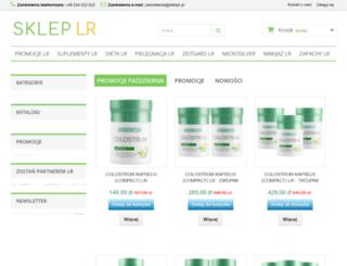 skleplr.pl screenshot