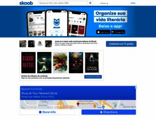 skoob.com.br screenshot
