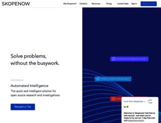 skopenow.com screenshot