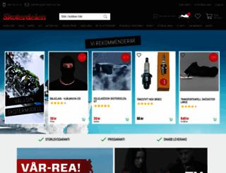 skoterdelen.com screenshot