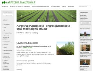 skovplanter.dk screenshot