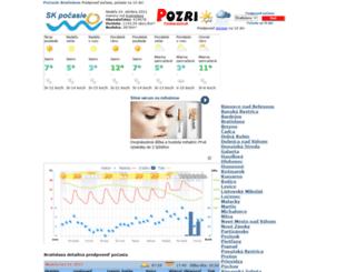 skpocasie.sk screenshot
