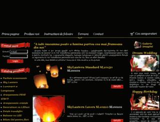 sky-lantern.ro screenshot