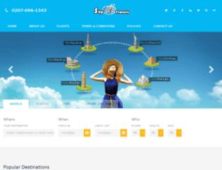 sky-travels.co.uk screenshot