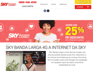 skybandalarga4g.com.br screenshot
