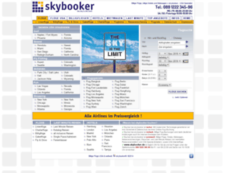 skybooker.de screenshot