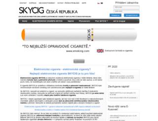 skycig.cz screenshot