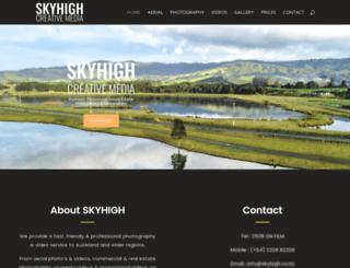 skyhigh.co.nz screenshot