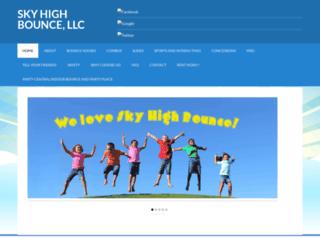 skyhighbounce.com screenshot