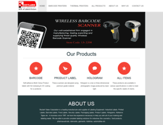 skylarklabels.com screenshot