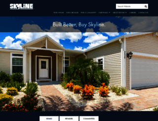skylinehomes.com screenshot