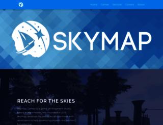 skymap.com screenshot
