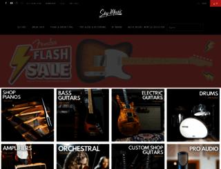 skymusic.com.au screenshot