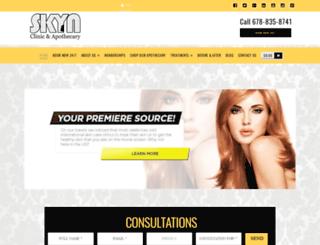 skynclinic.com screenshot