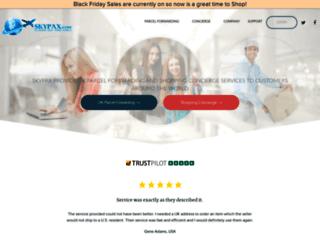 skypax.com screenshot