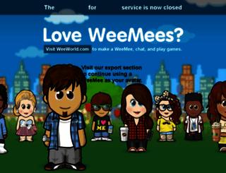 skype.weeworld.com screenshot