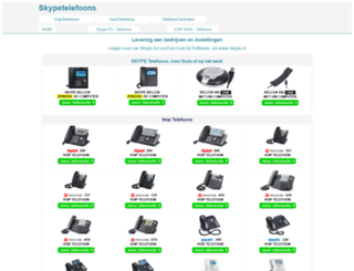 skypetelefoonwinkel.nl screenshot