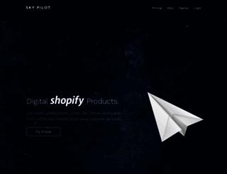 skypilotapp.com screenshot