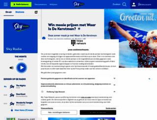 skyradio.nl screenshot