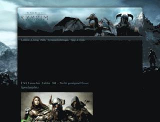 skyrim.de screenshot