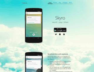 skyroapp.com screenshot