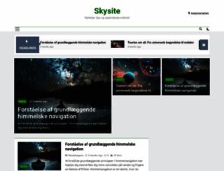 skysite.dk screenshot