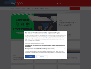 skysports.co.uk screenshot