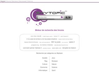 skytopic.org screenshot